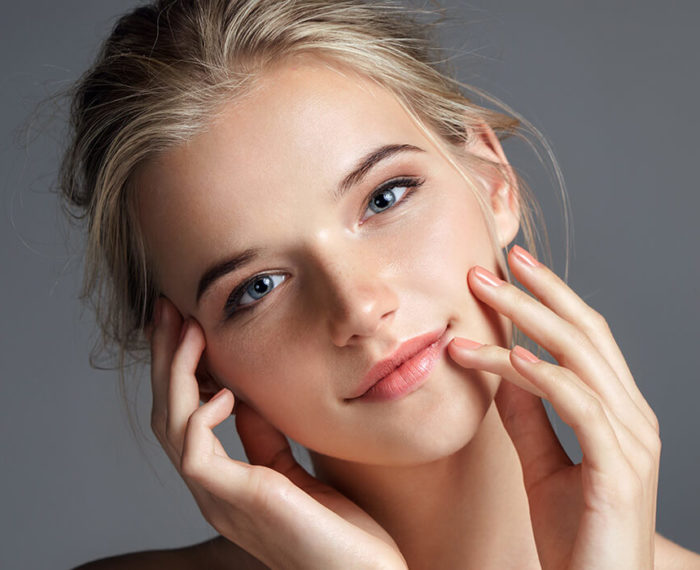 youthful glowing skin